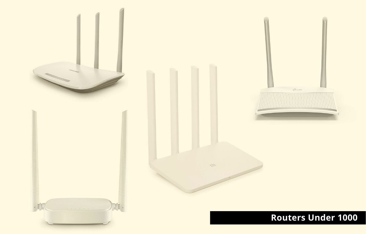 best wifi routers under 1000